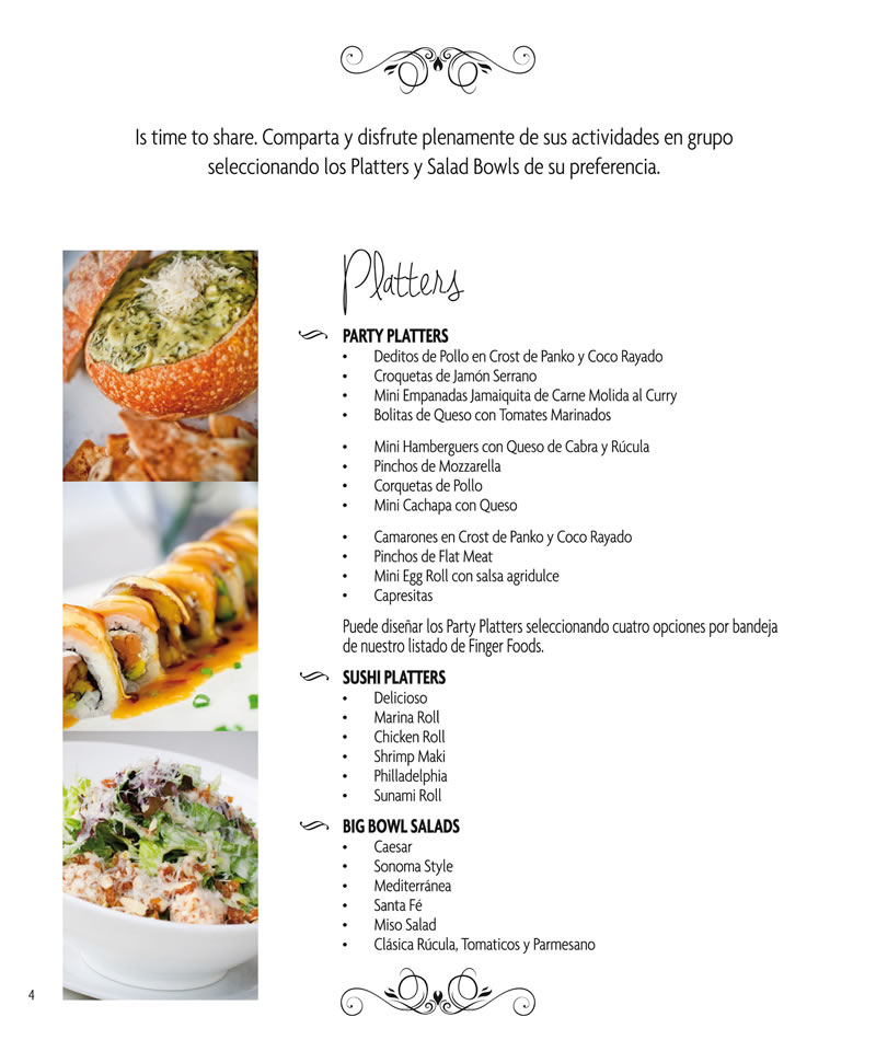 CATERING PAGINA 4