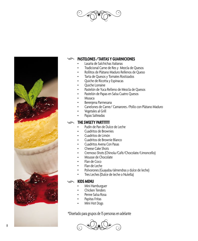 CATERING PAGINA 8